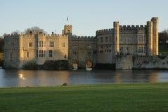 замок kent leeds Великобритания Стоковые Фото