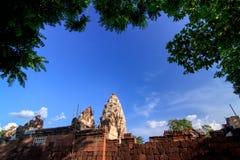 Замок KhmerArt Стоковое Изображение RF