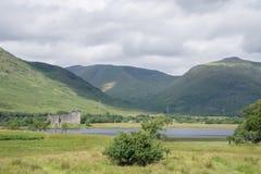 Замок Kilchurn, благоговение озера, Argyll и Bute, Шотландия Стоковое фото RF
