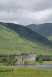 Замок Kilchurn, благоговение озера, Argyll и Bute, Шотландия Стоковые Фотографии RF