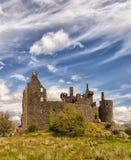 Замок Kilchurn в Шотландии Стоковое Изображение