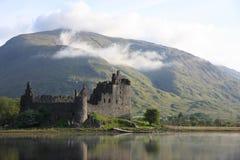 Замок Kilchurn Стоковое Изображение