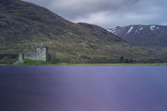 Замок Kilchurn Стоковые Изображения
