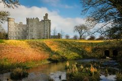 Замок Killeen Dunsany графство Meath Ирландия стоковые изображения rf