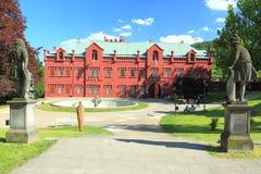 Замок Klasterec nad Ohri Стоковая Фотография RF