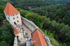 Замок Kokorin, чехия Стоковые Изображения