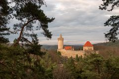 Замок Kokorin Стоковая Фотография
