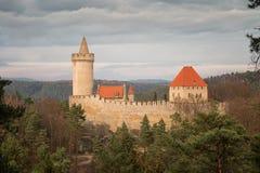 Замок Kokorin Стоковое Изображение RF