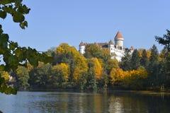 Замок Konopiste, чехия стоковые изображения rf