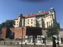 замок krakow Стоковое Изображение