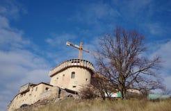 Замок Krasna Horka, Roznava, Словакии стоковое изображение rf