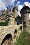 Замок Kreuzenstein стоковое изображение