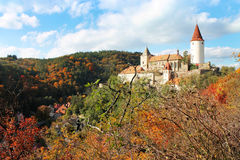Замок Krivoklat Стоковое Изображение RF