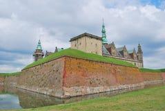Замок Kronborg в Elsinore Стоковая Фотография RF