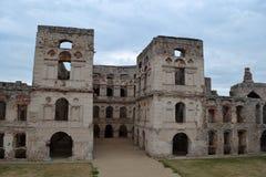 Замок Krzyztopor стоковые фотографии rf