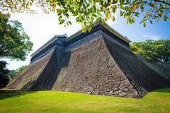 Замок Kumamoto в Kumamoto Японии Стоковое Изображение