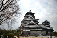 Замок Kumamoto стоковое фото rf