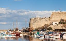 Замок Kyrenia стоковое фото rf