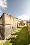 Замок L'Aquila стоковая фотография