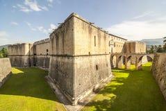 Замок L'Aquila стоковое изображение rf