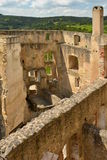 Замок Landstejn остается x стоковые фотографии rf