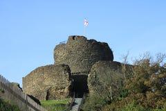 Замок Launceston стоковые изображения rf