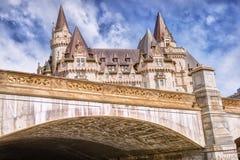 Замок Laurier Fairmont Стоковые Фотографии RF