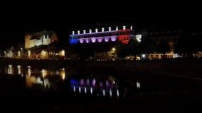 Замок Laval 14-ое июля Стоковые Фотографии RF