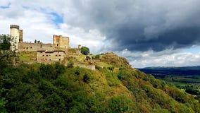 Замок le rochebaron Стоковое Изображение