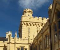 Замок Lednice, всемирное наследие ЮНЕСКО Стоковое Изображение RF