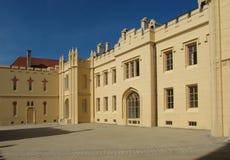 Замок Lednice в южной Моравии Стоковые Фото