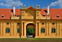 Замок Lednice, стабилизированный Стоковое Изображение RF