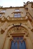 Замок Lednice, Чешская республика стоковое фото rf