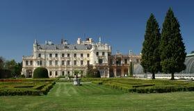 Замок Lednice стоковое изображение