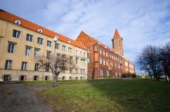 Замок Legnica, Польши стоковые изображения rf