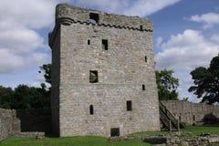 замок leven loch стоковая фотография