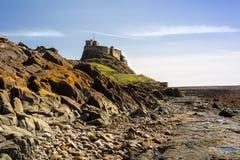 Замок Lindisfarne Стоковые Изображения