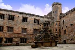 Замок Linlithgow, Шотландия Стоковое Изображение RF