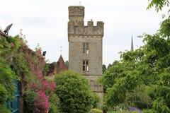 Замок Lismore и сады Lismore Уотерфорд Ирландия Стоковое Изображение RF