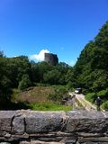 Замок Llanberis Dolbadarn Стоковое Изображение RF