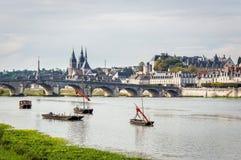 Замок Loire Valley Франция стоковые изображения rf