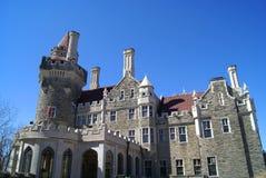 Замок Loma Касы в Торонто, Онтарио, Канаде Стоковая Фотография