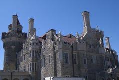 Замок Loma Касы в Торонто, Онтарио, Канаде Стоковые Фото