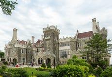Замок Loma Касы в Торонто, Онтарио Стоковые Изображения