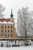 Замок Lubomirski в Rzeszow, Польше Стоковая Фотография