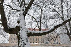 Замок Lubomirski в Rzeszow, Польше Стоковое Фото