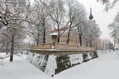 Замок Lubomirski в Rzeszow, Польше Стоковая Фотография RF