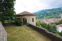 Замок Malaspina - Dal Verme стоковое изображение