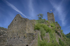 Замок Manderscheid Стоковое Изображение