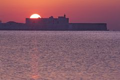 Замок Maniace Стоковая Фотография
